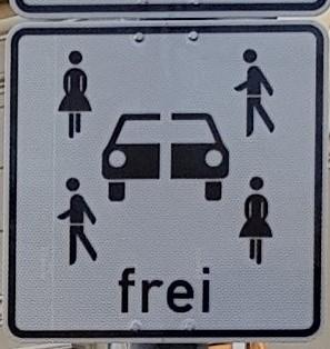 Ein neues Schild im Wald …  Carsharing – Stellplätze werden jetzt neu gekennzeichnet!